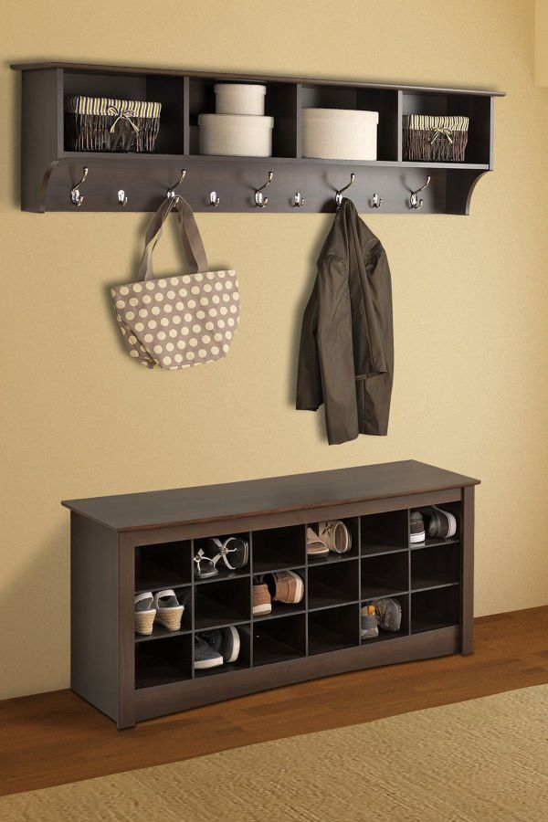Bench with Shoe Storage for Living Room