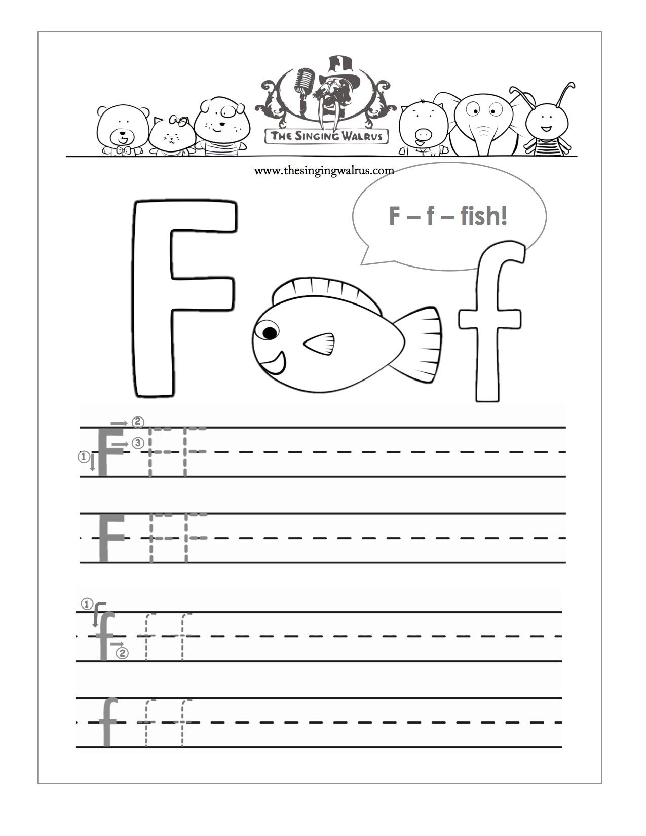 Free Alphabet Practice Sheets For Kindergarten Curriculum