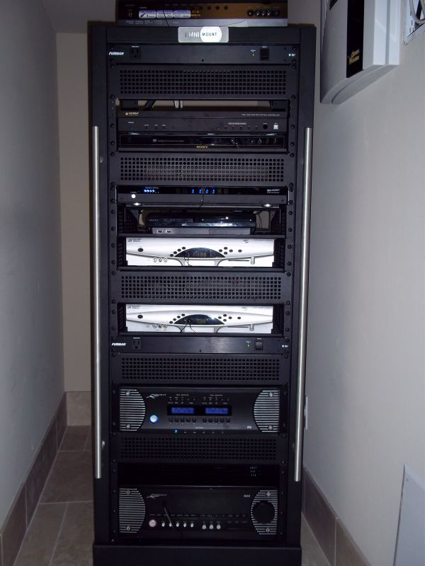 Projector Supercenter Llc Home Theater Installation. Audio Video Component Rack. Visit