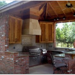 Outdoor Kitchen Design Plans Free Island Cart Kitchens And Pool Designs