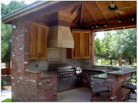 outdoor kitchens and pool designs