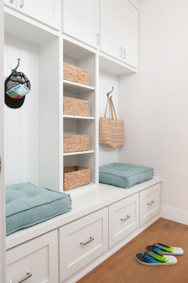Mudroom Mudroom cabinet with shelves bench and drawers