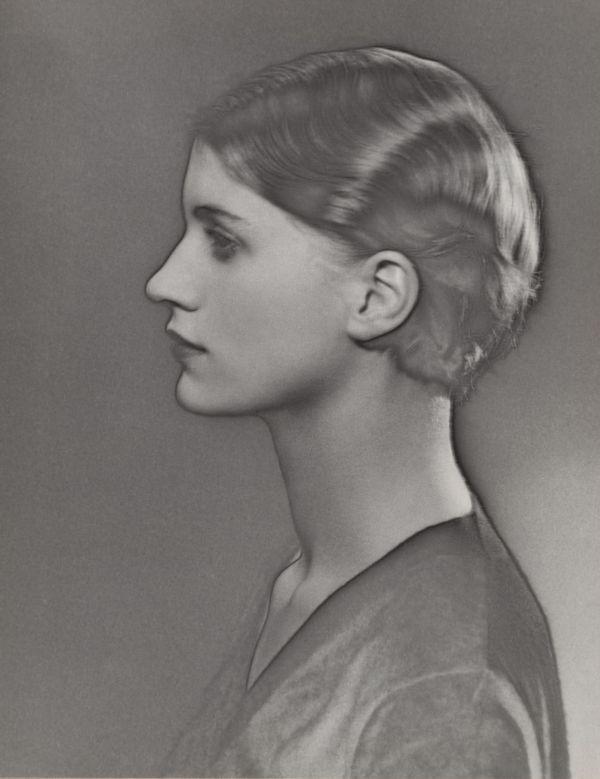 Man Ray - Solarized Portrait Of Lee Miller 1929 Fala