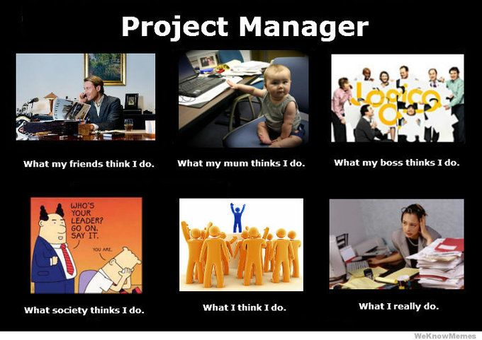 What I really do  as a Project Manager in web industry