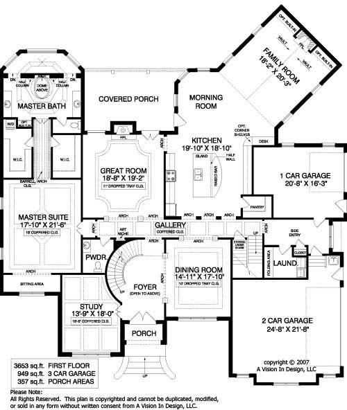 european house floor plans