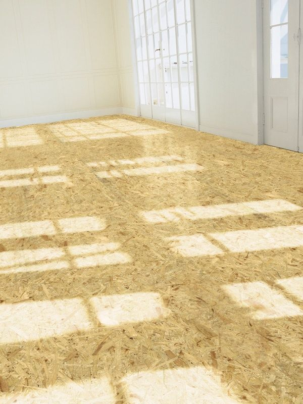 Chipboard polished floor types