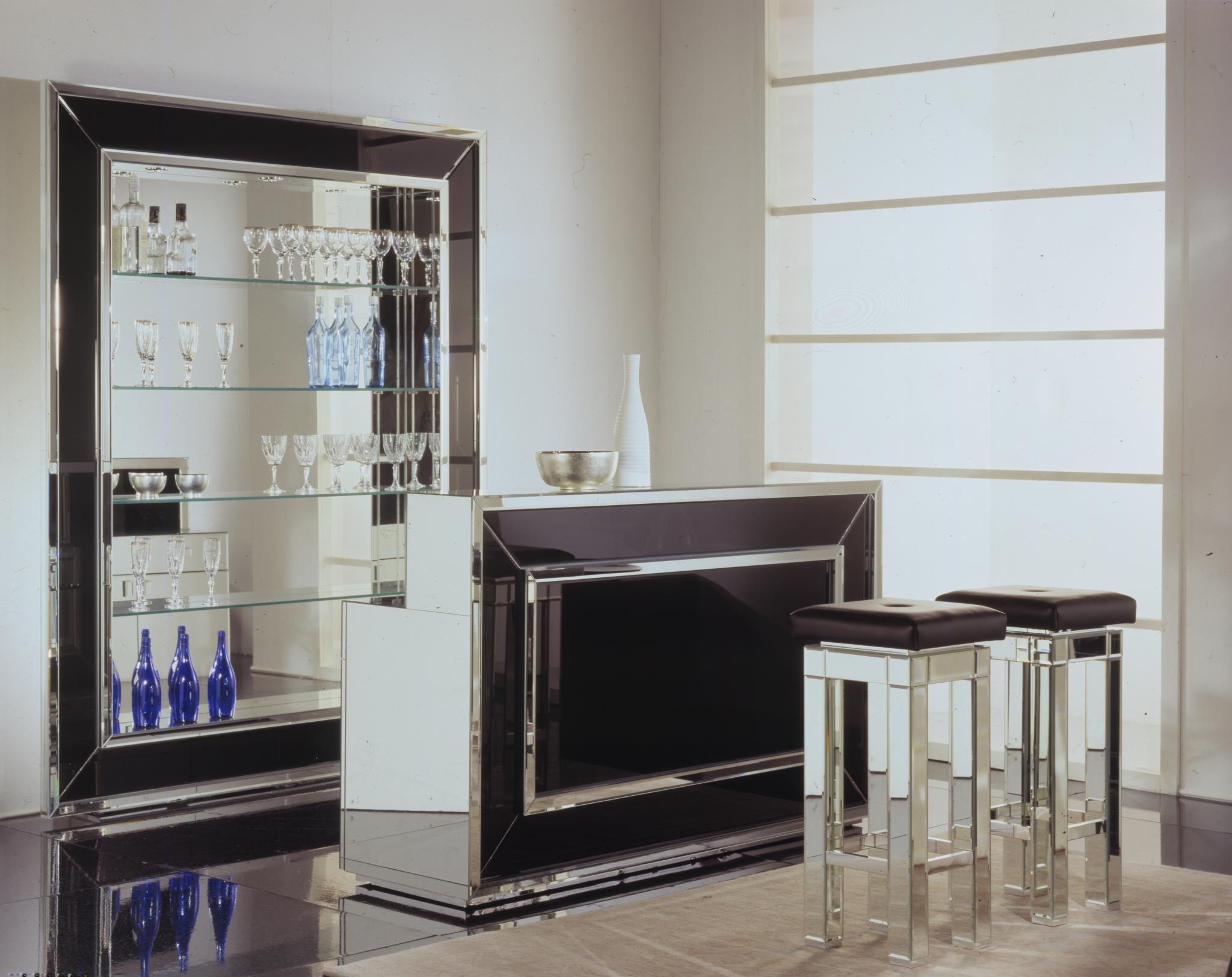 Home Bars  Home Bar  Venetian Luxury Glass Home Bar
