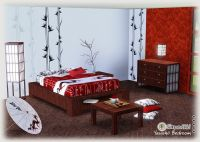 japanese bedding cherry blossoms | My Sims 3 Blog ...