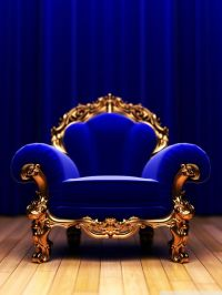 Elegant Royal Blue Chair | Homes & Interiors | Pinterest ...