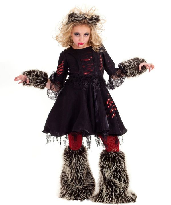 Wolf Costume Child - Google Arctic