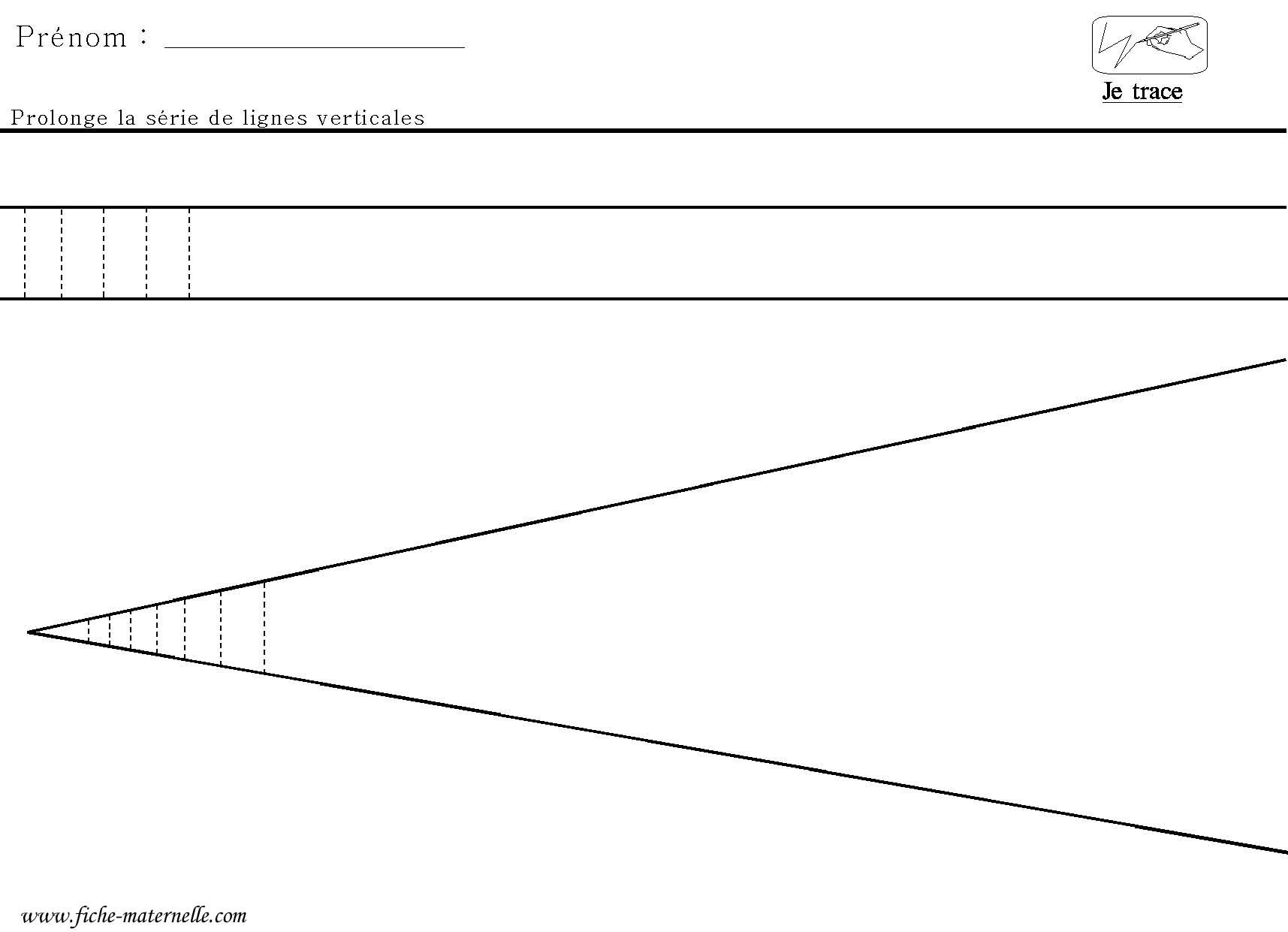 Graphisme Tracer Des Lignes Verticales Entre Deux Lignes