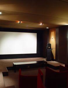 Realisation salle de cinema prestige systeme audio hifi revel ultima salon ampli mark levinson also rh in pinterest