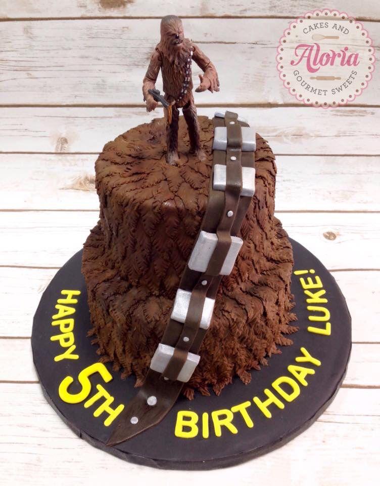 Star Wars Chewbacca Birthday Cake Birthday Cakes