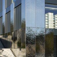 Lausanne, UNIL, Gopolis | Stainless steel panels, Steel ...