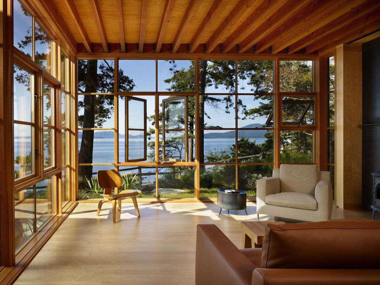 Pacific Northwest Home With Water View In Bellingham Washington