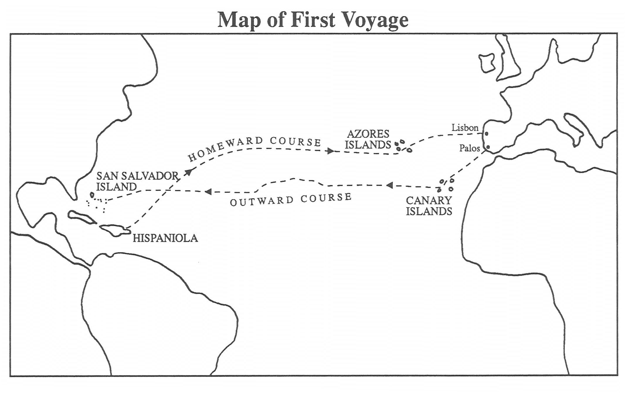 Christopher Columbus First Voyage