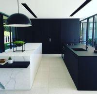 Black | white | marble | Kitchens | Pinterest | White ...
