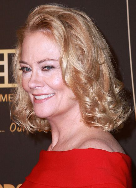 Curly Hairstyles Cybill Shepherd's Blonde Curly Hairstyle