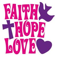 Faith - Hope - Love Quotes Wall Sticker - Totally Movable ...