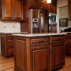 Staining Kitchen Cabinets New Sink Installation Beautiful Maple Stained With Black Glaze In This ...