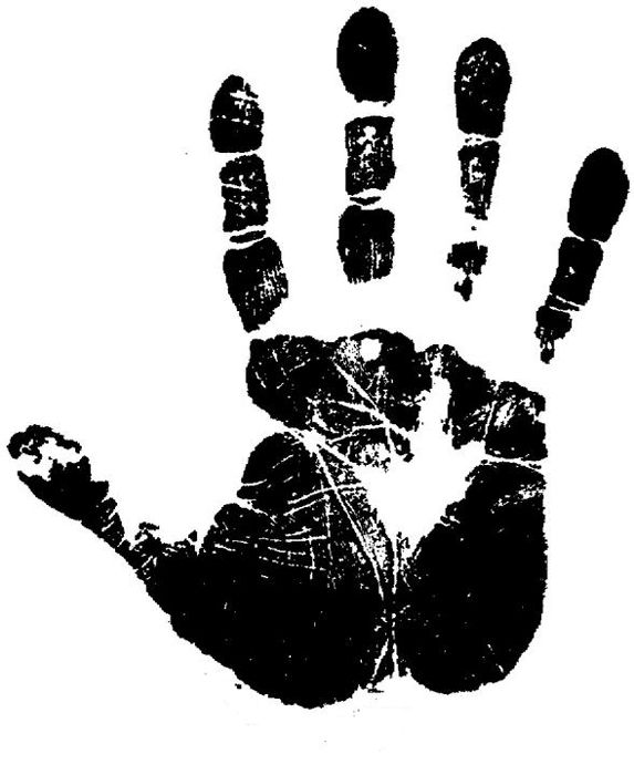 Balck And White Fingerprints
