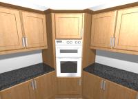 Oven housing