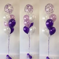 Purples feature - pearl white, lavender and quartz purple ...