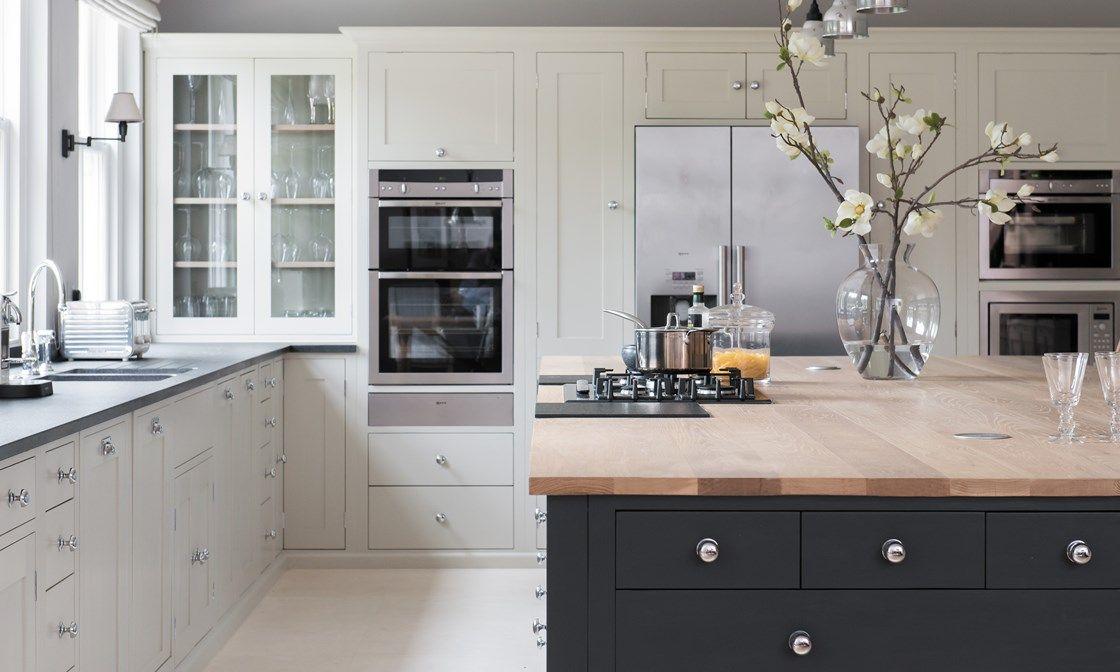 Suffolk painted kitchen fitted kitchen kitchen ideas