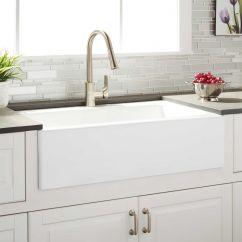 Kitchen Farmhouse Sinks Buffet Ikea 33 Quot Almeria Cast Iron Sink