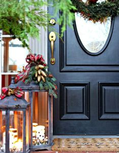 Make the outside of your home as ready for holiday season inside with these outdoor christmas decorating ideas from beautiful greenery also rh pinterest