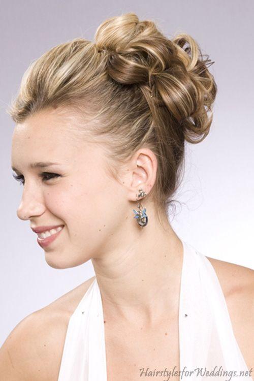 Wedding Updos For Medium Length Hair Style Mid Length Hair