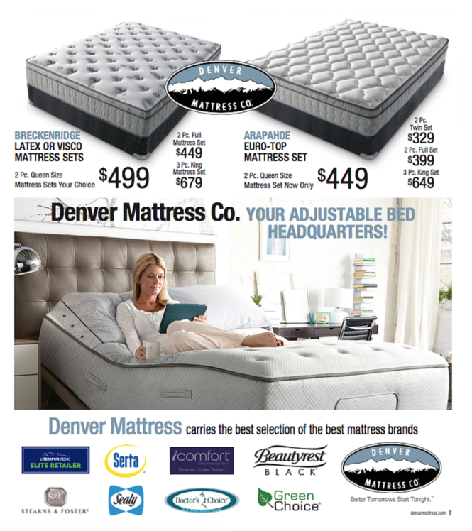 Denver Mattress Is Your Adjule Bed Headquarters The Breckenridge And Arapahoe Mattresses From