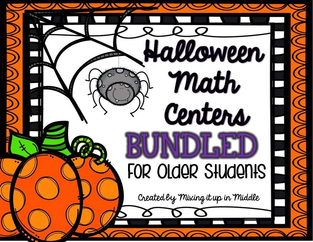 5 Math Centers For Older Students Bundled Gcf Decimals