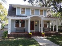 Dutch Colonial porches with exterior front doors and