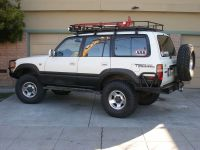WTS: Garvin Wilderness Roof Rack full length for 80 series ...