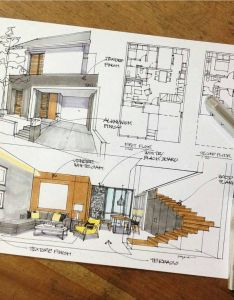 Arquitetura also best images about interior design sketch on pinterest rh