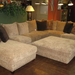 Huge Leather Sectional Sofa Get Cushions Restuffed Robert Michael Rocky Mountain