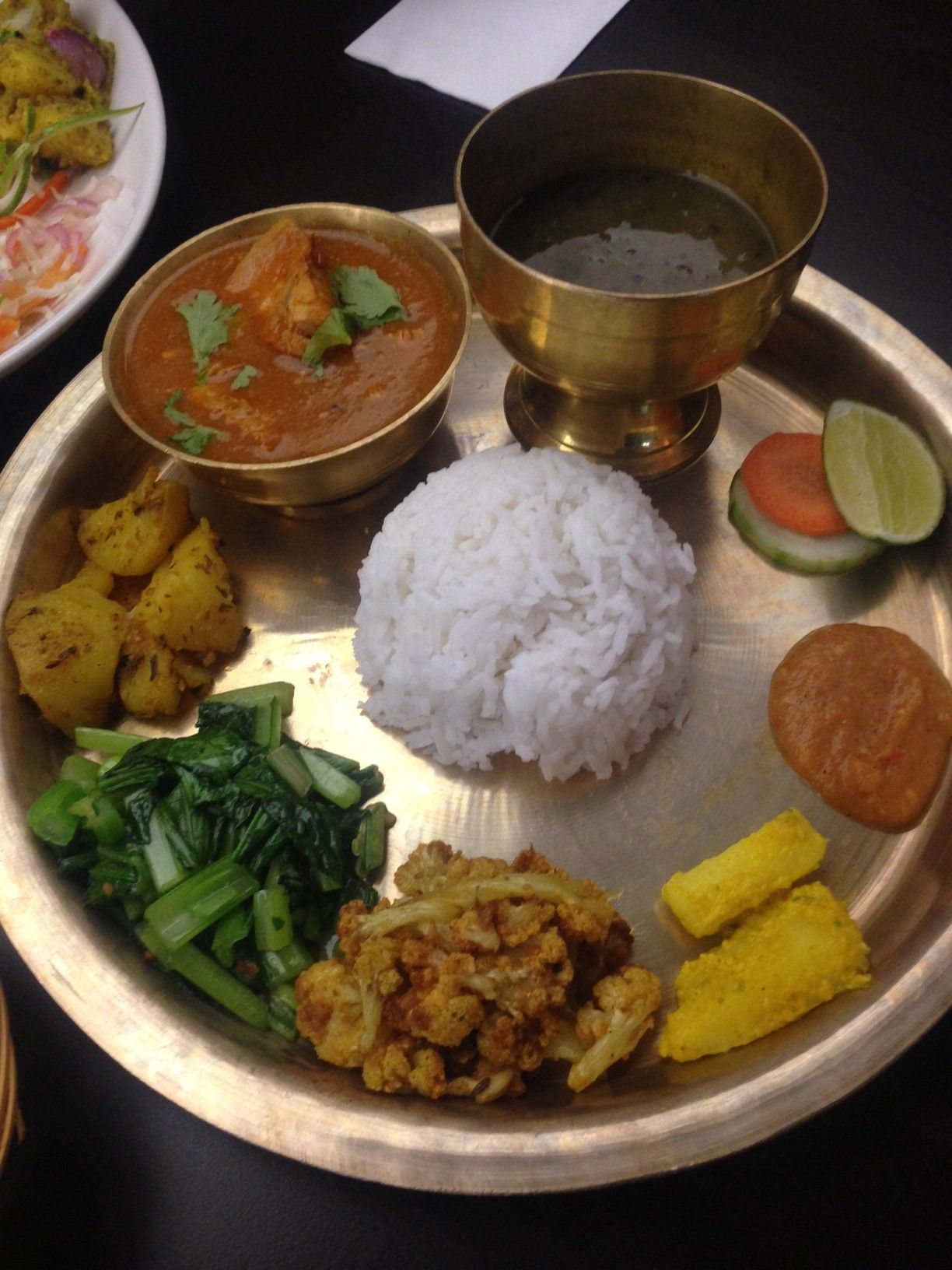 One of the best restaurant I had visited in 2014 was Nepal