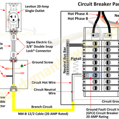Electrical Panel Wiring Diagram Symbols 2003 Buick Rendezvous Abs Ground Fault Circuit Breaker And Outlet