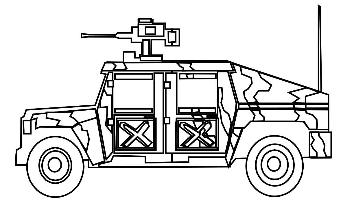 Free Jeep Coloring Pages To Print http://procoloring.com