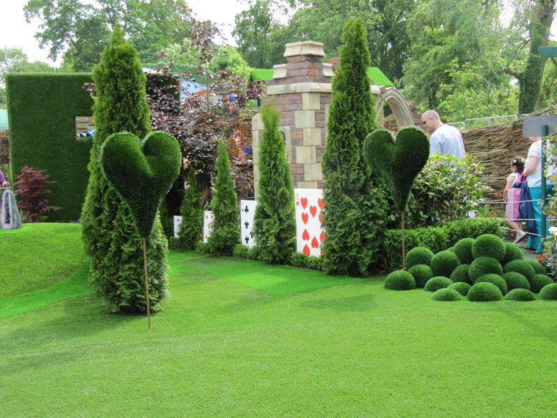 Alice In Wonderland Garden Great Ideas Pinterest Gardens