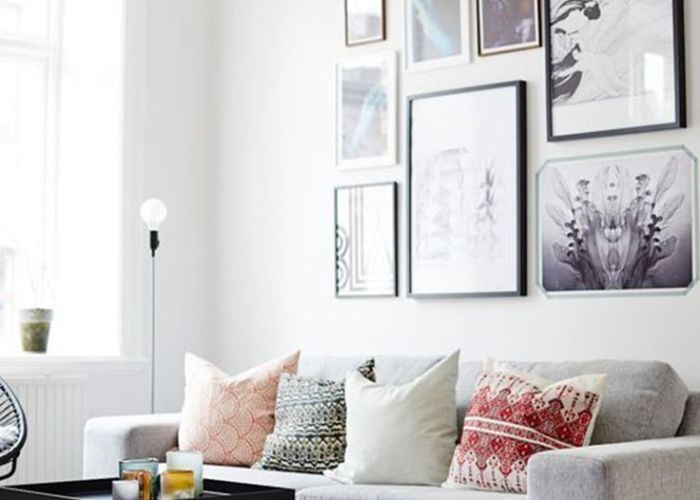 An all white palette gets    inspired twist with the help of also interior design pinspiration la vie boh me pillows interiors and