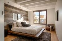 39 Jaw-dropping wood clad bedroom feature wall ideas ...