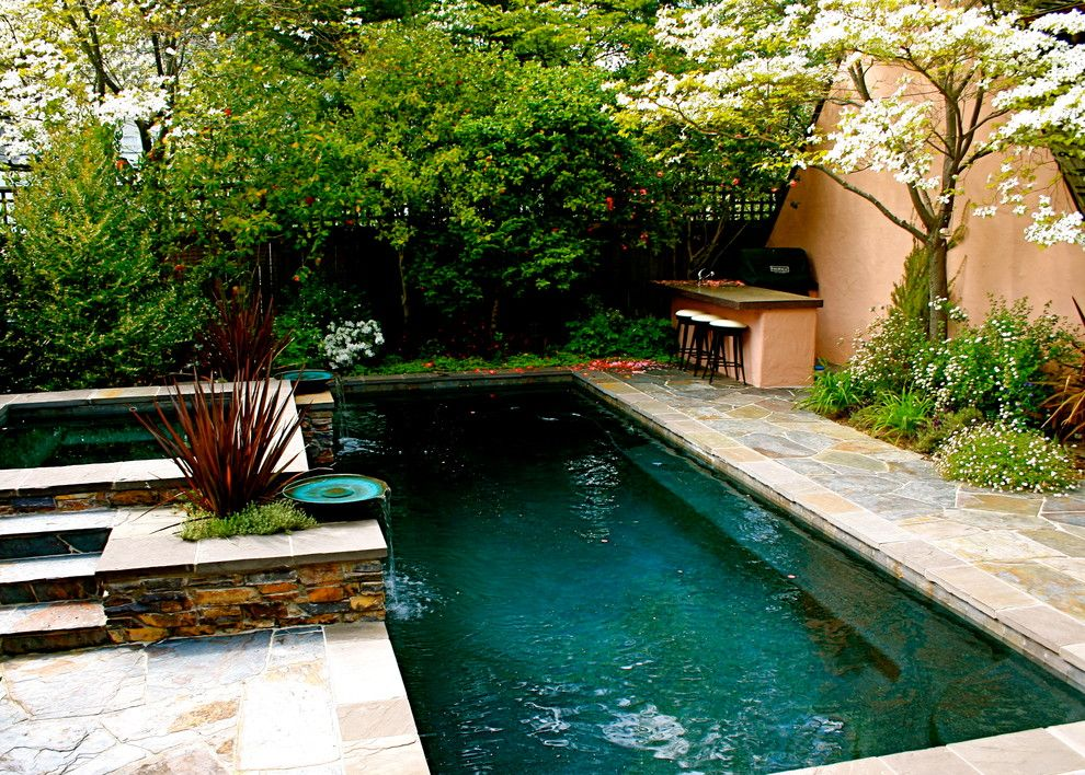 Sublime Small In Ground Pools Ideas In Pool Traditional Design
