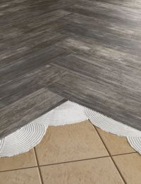 Install #THINNERtile right over old outdated #tile #floors ...