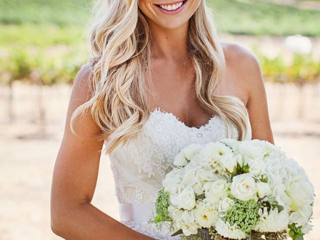 22 country-chic wedding hairstyles | casual curls, strapless lace
