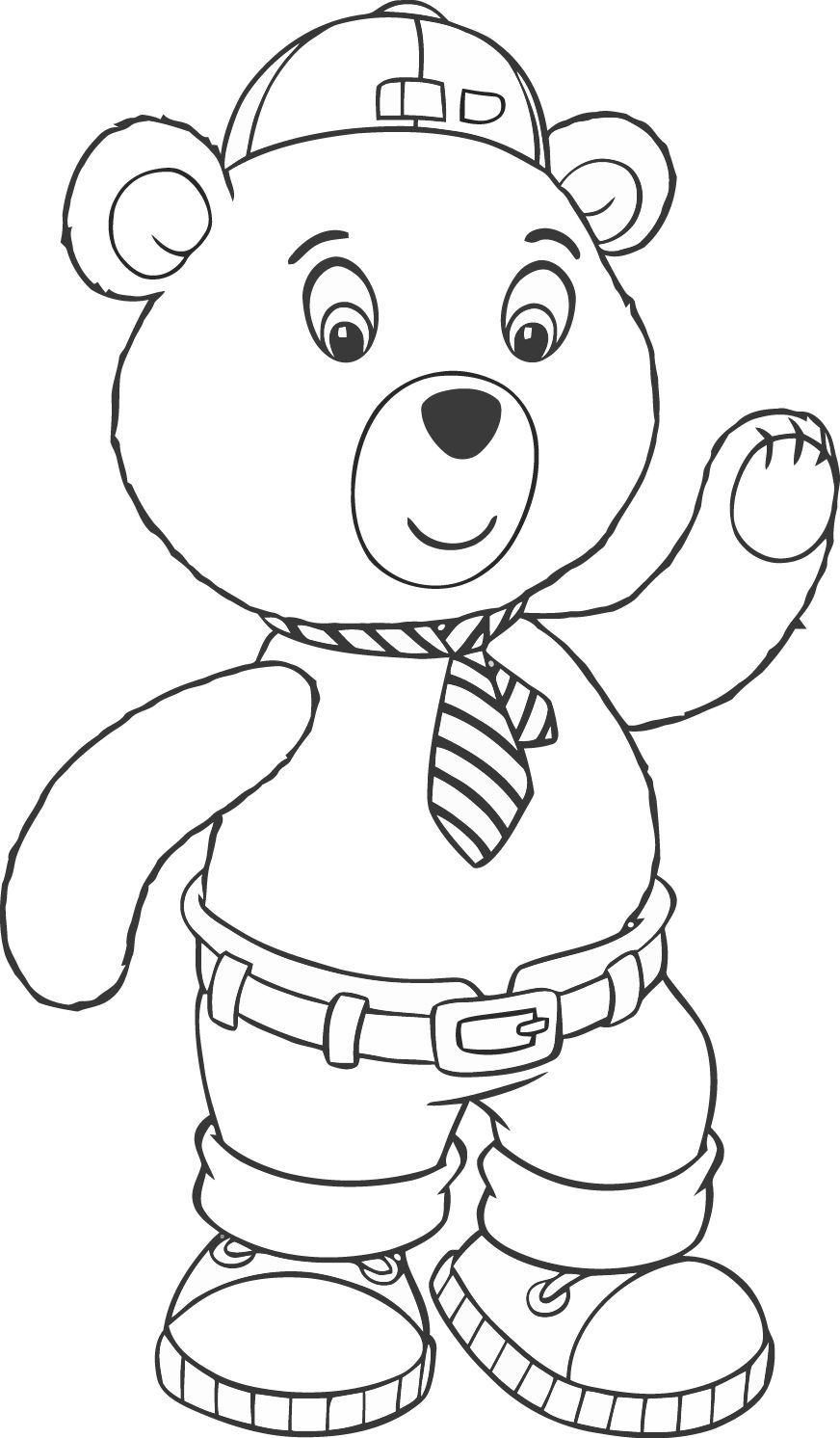 Awesome Noddy 99 Mcoloring Coloring Page Mcoloring Pinterest