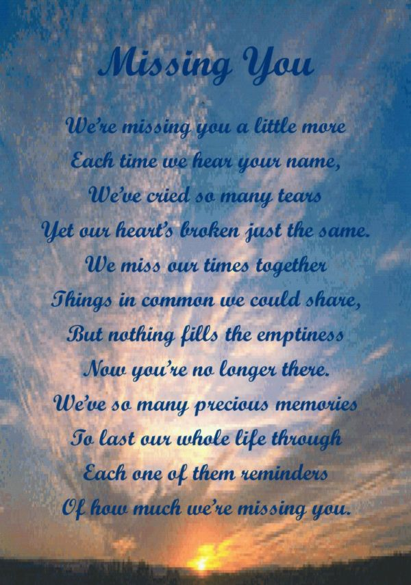 Missing My Son Poems Vtwctr