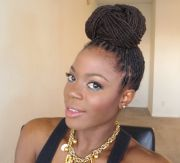 beyonce inspired loc hairstyle