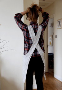 These aprons are inspired by Japanese designs and have no ...
